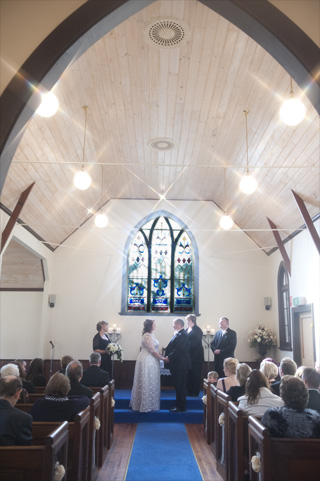 Whitechapel provides an intimate setting for the exchange of wedding vows