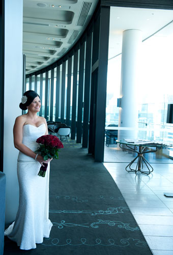 A bride before her wedding, photography at the Crown Metropol Hotel, Melbourne