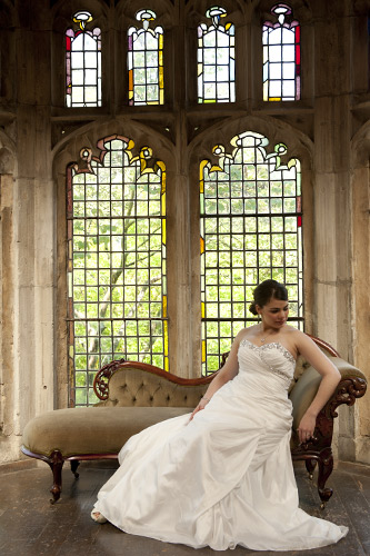 Wedding Photography outside the great hall, montsalvat