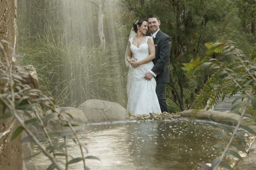 wedding at potters waterfall warrandyte