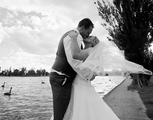 Wedding photography in Black and White, Melbourne